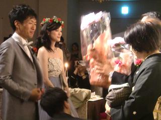 Rさん・Aさん結婚式2