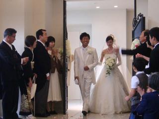 Rさん・Aさん結婚式3